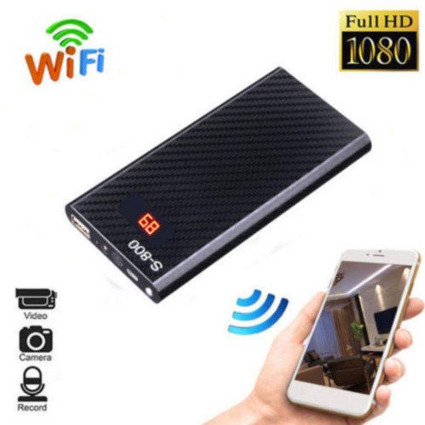 10000mah Power Bank Wifi 1080p HD Spy Hidden Camera - Kai