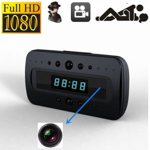 1080P Full HD Table Clock Camera - Callum 1