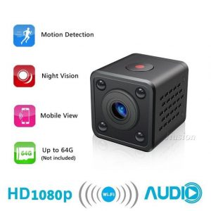 1080P Full HD Tiny Wireless Camera - Hugo