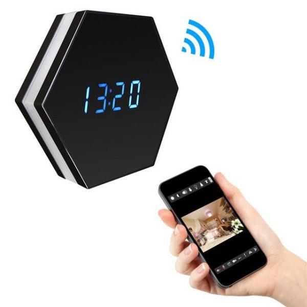 1080P HD Remote WiFi Camera Clock - Louie
