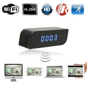 1080P Hidden WiFi Clock Camera - Eva
