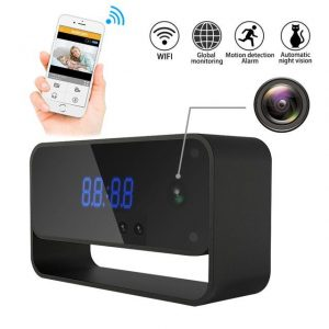 1080P WiFi Hidden Camera Clock – Ronnie