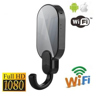 1080p WiFi Night Vision Clothes Hook Security Camera - Ryan