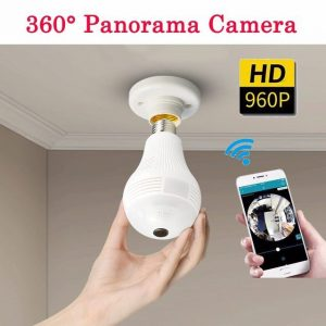 360 Degree Panorama Light Bulb Hidden Camera – Mark