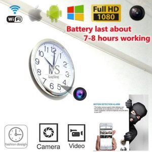 Full HD 1080P Spy Camera Clock - Oliver