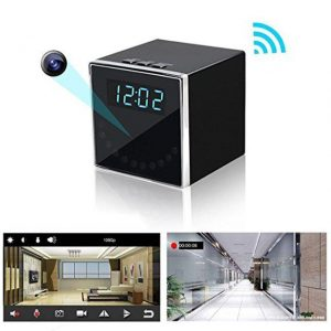 HD 1080P Wireless Clock Camera – Boxie