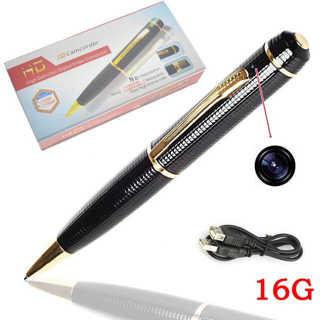 New Spy Camera Pen 1080p HD Hidden Camcorder DVR Video LOW LIGHT Surveillance