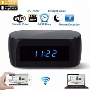 HD Hidden Spy Clock Camera - David