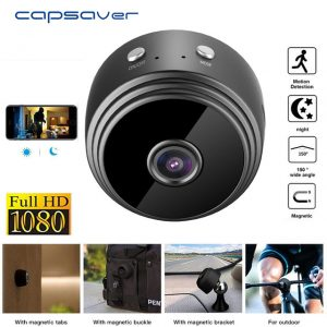 Mini Wireless HD 1080P Home Security Camera - Lexi