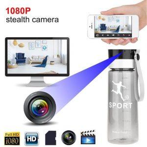 WiFi 1080p HD Water Bottle Spy Camera - Mia