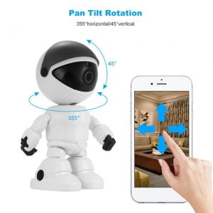 WiFi Robot Security IP Camera HD 1080 P - Noah
